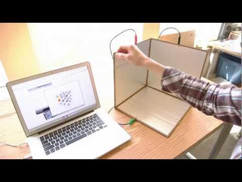 Weekend Projects – A Touchless 3D Tracking Interface – YouTube