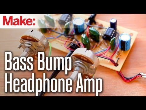 Weekend Projects – Bass Bump Headphone Amp – YouTube