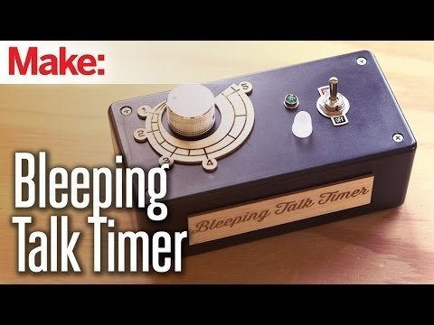 Weekend Projects – Bleeping Talk Timer – YouTube