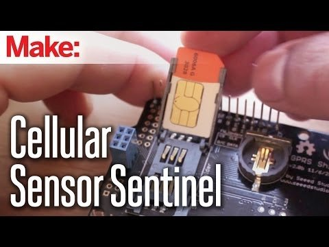 Weekend Projects – Cellular Sensor Sentinel – YouTube