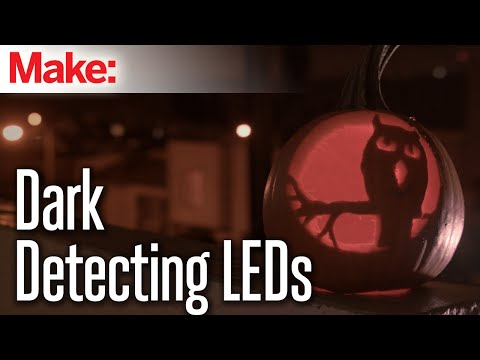 Weekend Projects – Dark-Detecting LEDs – YouTube