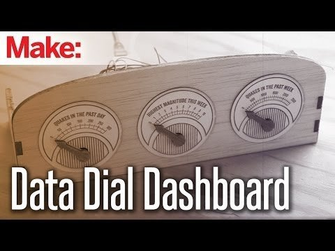 Weekend Projects – Data Dial Dashboard – YouTube
