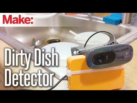 Weekend Projects – Dirty Dish Detector – YouTube