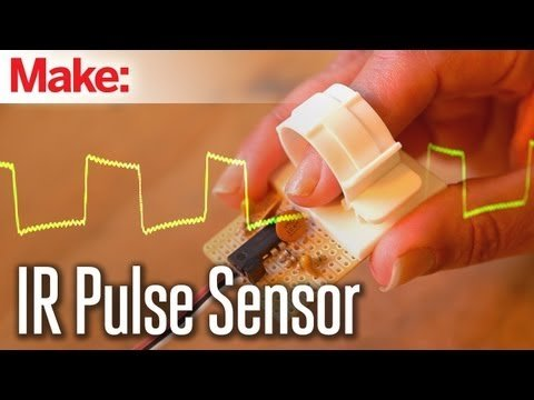 Weekend Projects – Infrared Pulse Sensor – YouTube