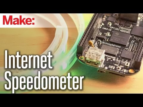Weekend Projects – Internet Speedometer – YouTube