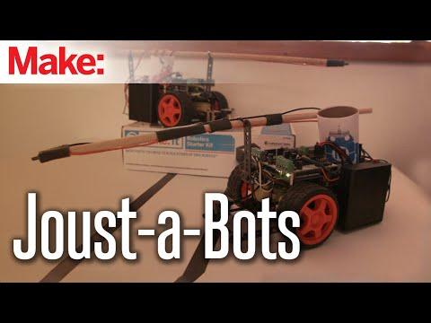 Weekend Projects – Joust-A-Bot – YouTube