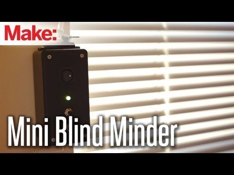Weekend Projects – Mini Blind Minder – YouTube