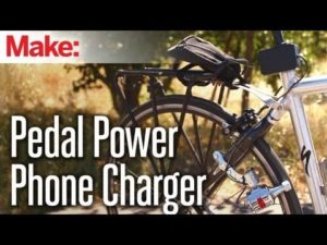Weekend Projects – Pedal Power Phone Charger – YouTube