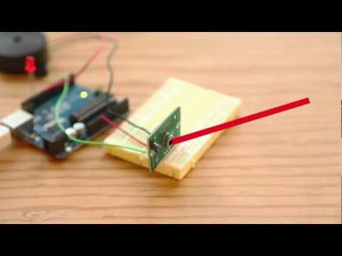 Weekend Projects – PIR Sensor Arduino Alarm – YouTube