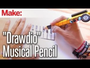 "Weekend Projects – ""Drawdio"" Musical Pencil – YouTube"