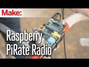 Weekend Projects – Raspberry Pirate Radio – YouTube