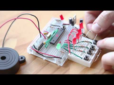 Weekend Projects – Repeat After Me: A Mintronics Memory Game – YouTube