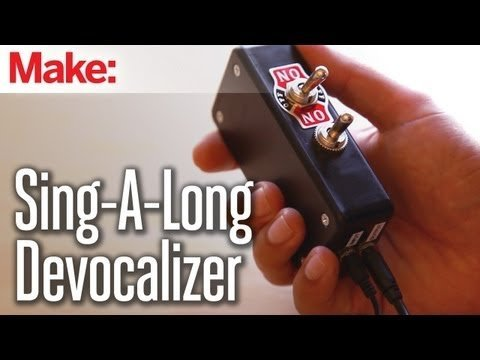 Weekend Projects – Sing-a-long Song Devocalizer – YouTube