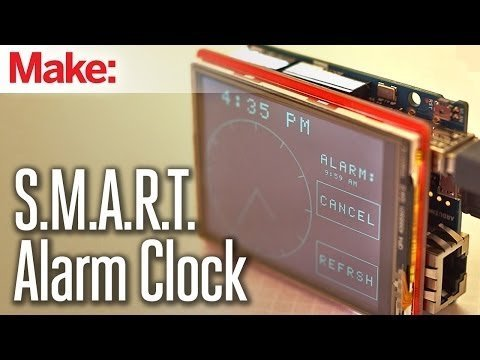 Weekend Projects – S.M.A.R.T. Alarm Clock – YouTube