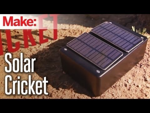 Weekend Projects – Solar Cricket – YouTube