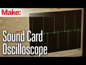 Weekend Projects – Sound Card Oscilloscope – YouTube
