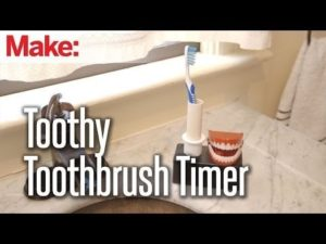 Weekend Projects – Toothy Toothbrush Timer – YouTube