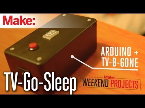 Weekend Projects – TV-Go-Sleep Universal TV Timer – YouTube