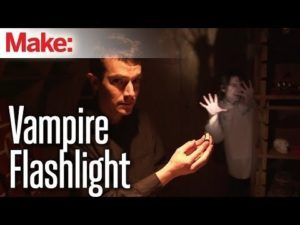 Weekend Projects – Vampire Flashlight – YouTube