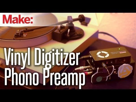 Weekend Projects – Vinyl Digitizer Phono Preamp – YouTube