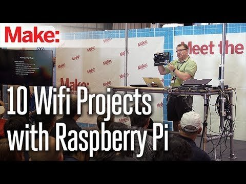 10 Wifi Projects with Raspberry Pi – Andrew Naylor – YouTube