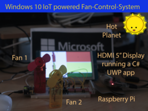 Windows 10 IoT Fan Control – no need to sweat! – Hackster.io