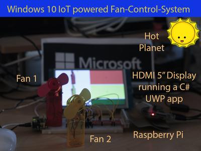 Windows 10 IoT Fan Control – no need to sweat! – Hackster.io