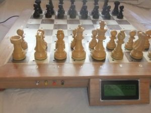 Wooden Chess Board with Piece Recognition  – Hackster.io