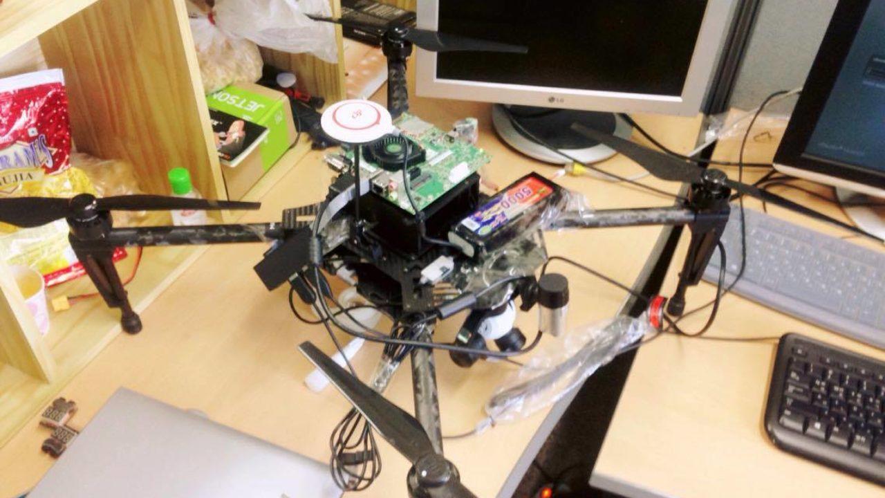 GitHub - Shikhargupta/vision-based-autonomous-UAV: Robot