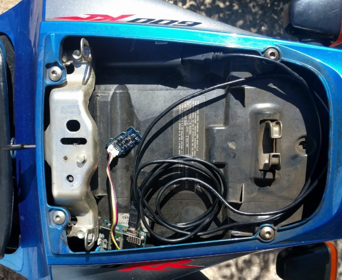 Motorcycle Data Acquisition with Arduino and RideData.net app