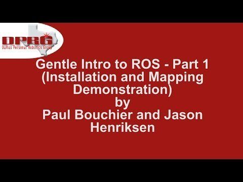 ROS Tutorial part 1 – YouTube