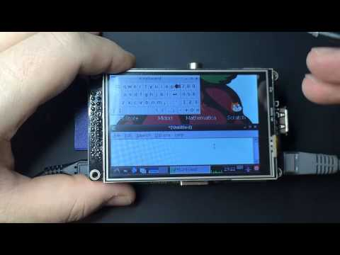 A Virtual Keyboard running on a Raspberry Pi – YouTube