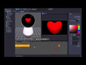 Animating Jibo with the SDK ]