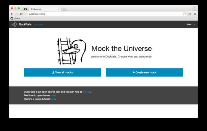 GitHub – iridakos/duckrails: A development tool for quickly & dynamically mocking API  ...