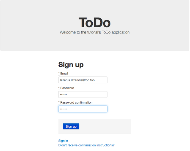 Creating a simple ToDo application with Ruby on Rails – Part 3