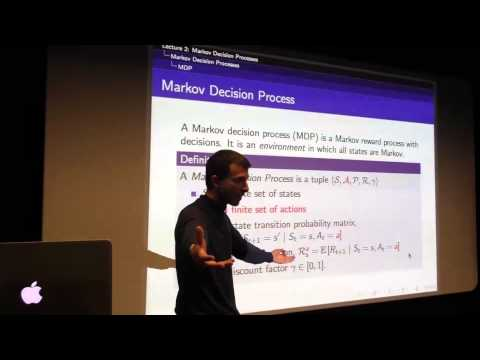 RL Course by David Silver – Lecture 2: Markov Decision Process – YouTube