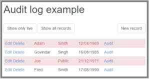 Audit trail and data versioning with C# and MVC – CodeProject