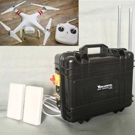Brouilleur de Bourdons de Signal d'UAV avec Batterie Haute Capacité