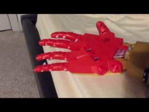 Robot hand test – Arduino