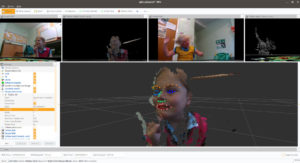 3D head pose estimation using monocular vision