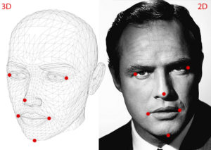 Head Pose Estimation using OpenCV and Dlib