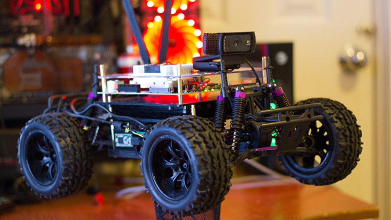 Autonomous Racing Car using NVIDIA Jetson TX2 using end-to-end