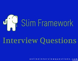 10+ Slim framework interview questions 2018 – Devquora: Slim is a micro-framework written  ...