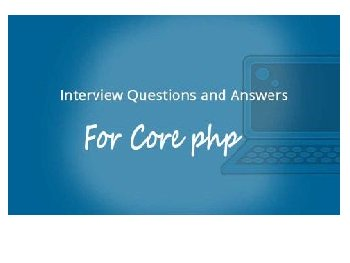 100+ PHP Interview Questions – Interview Questions On PHP…