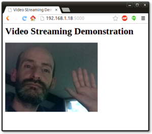 Video Streaming with Flask