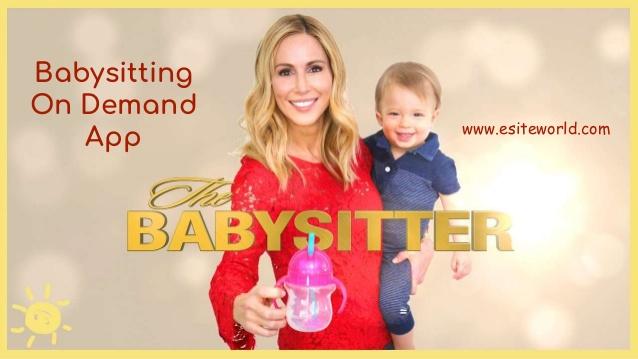 Babysitting On Demand App
