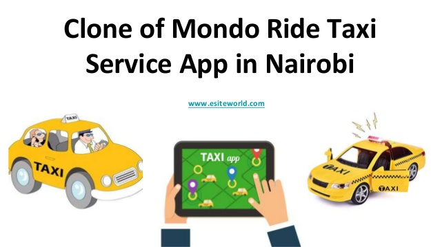 Clone of Mondo Ride Taxi Service App in Nairobi