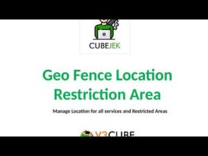 Geo Fence Location & Restricted Area Gojek Clone App