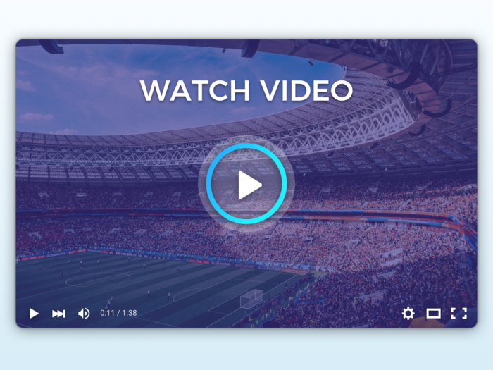 Top 5 HTML5 Video & Audio Players For Live & On Demand Streaming
