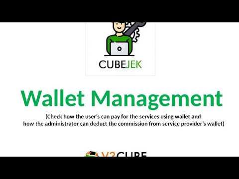 Wallet Management in Cubejek Application like Gojek